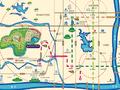 武汉恒大时代新城交通图